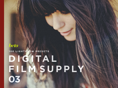 Digital Film Supply 03 photographer raw end high retouch bundle professional styles van visual film vsco
