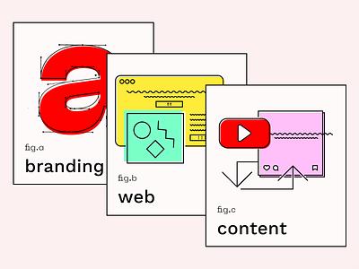 Lil Illos illustrations icons website uiux ui logo flat lineart icon illustration social content web branding
