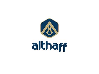 LOGO DESIGN ALTHAFF branding logo graphic design
