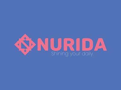 LOGO DESIGN NURIDA branding graphic design logo