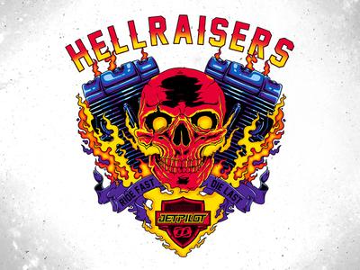 Hellraisers Tee Graphic
