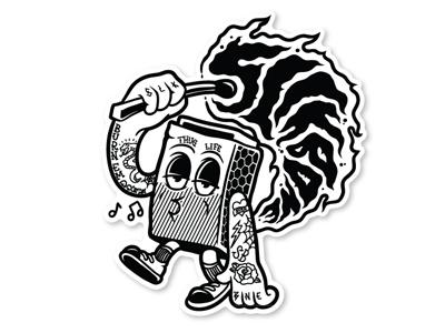Slikbone Matchbox Character