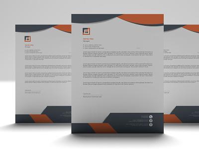 Letterhead Design Template stationary