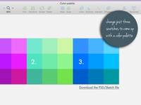 Create a Color Palette [Free Download]