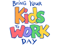 Bring Your Kids to Work Day logo