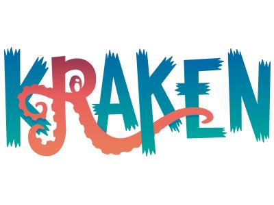 Kraken Logo pirates team logo octopus tentacles kraken