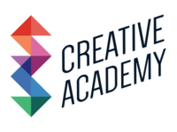 Creative Academy Logo 2 colors jeweled logo academy creative