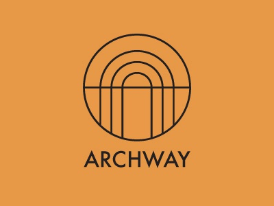 Dribbble archway