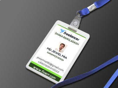 Personal company ID card design ui 3d logo branding motion graphics graphic design animation