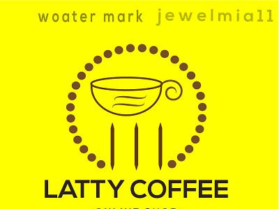 Coffee house logo design 3d branding logo motion graphics graphic design animation ui