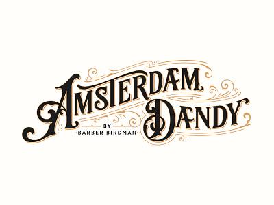 Amsterdam Dandy typography logotype logo lettering handlettering customtype
