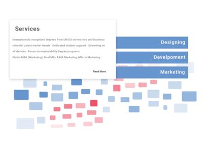 Web UI - Service Section