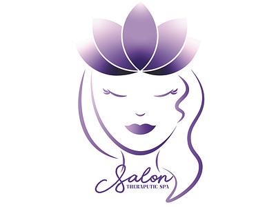 Salon & Spa Logo Design illustrator cosmetology fashion graphic design branding design spa salon hair logo