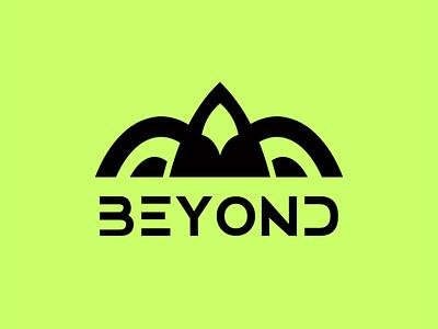 BEYOND Aerospace Logo Design company business engineering design vector graphic design branding logo aerospace