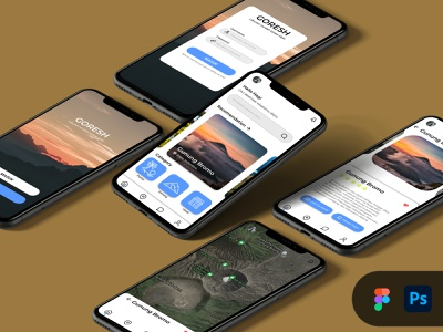TRAVEL APPS MOBILE ui mobile typography photoshop travel ui