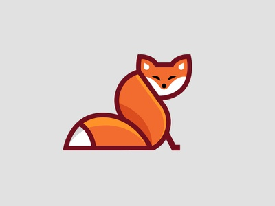 Fox vector illustration vector art vectors fox logo illustration animal foxy fox character design branding logo ui vector icon