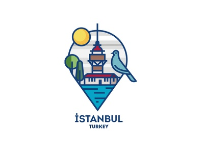 Istanbul, Turkey istanbul ux history turkey vector illustration logo city illustration design vector icon