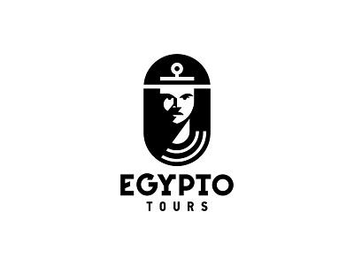 Egypto Tours ancient ancient egypt egyptian egypt character app city logo ux ui illustration vector illustration design vector icon