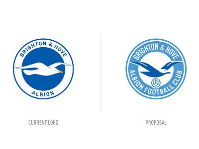 BHAFC Logo Redesign brighton england football logo ux ui vector illustration design vector icon