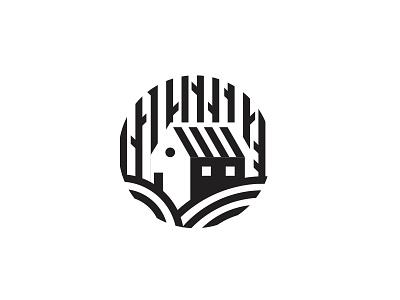 Cottage cottage house logo vector illustration illustration design icon vector