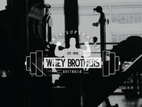Whey brothers sports suplements logo