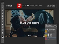 FREE PSD SLIDER UI - Slider Revolution Fullscreen Wordpress