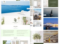 Greece Luxury Resort Website Design For Nastasia Village