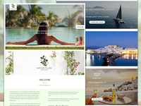 Greece Luxury Resort Website Design For Nastasia Village Hotel