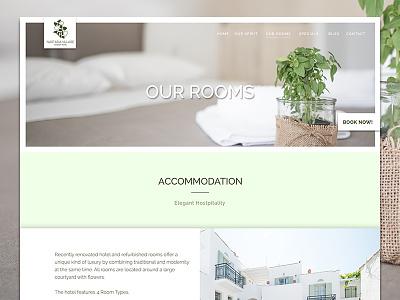 Nastasia Village Hotel Greece Our Rooms Website Design website holiday app ui booking accommodation greek resort hotel luxury greece
