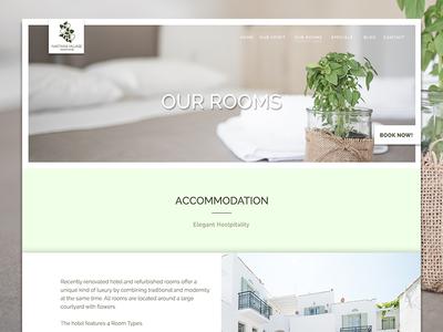 Nastasia Village Hotel Greece Our Rooms Website Design By Bradley - Website to design a room