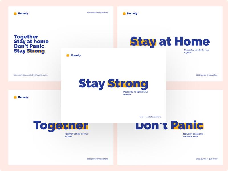 Quarantine Quotes poster typography branding typedesign type