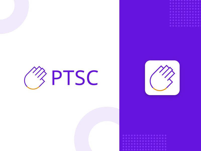 Project to Support Community Logo design typography icon app identity branding logo
