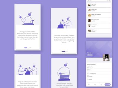 Point of Sales App Design casestudy illustration web design ux ui