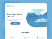Boat Booking Landing Page