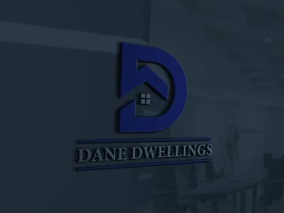 Dane Dwelling Real Estate Brand Design real estate investor brand design realtor real estate agent logo branding real estate