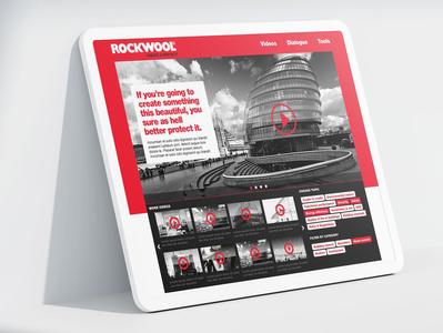 Rockwool - Create & Protect scandinavian corporate branding danish video ux  ui digital campaign advertising ui ghanavati