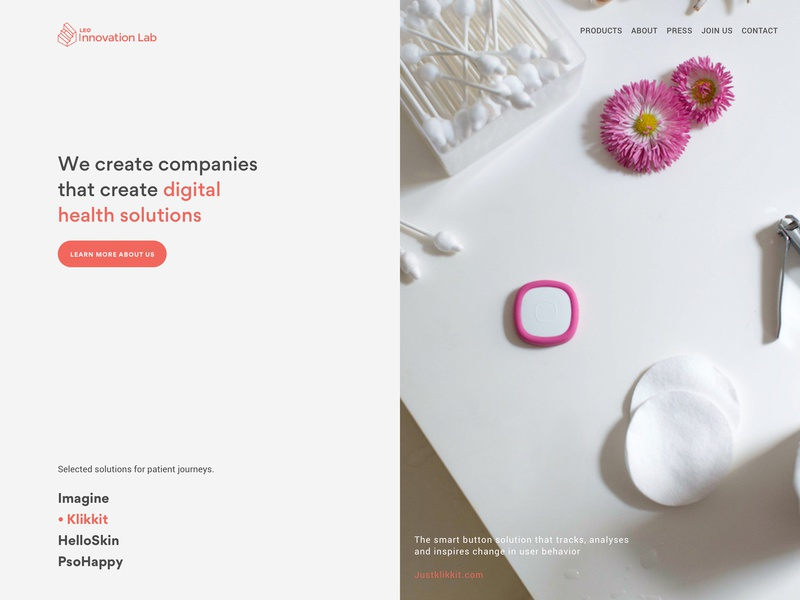 Leo Innovation Lab - Exploration A webdesign ux ui logo scandinavian modern identity ghanavati danish corporate exploration uxui branding typography front page landing page web design design
