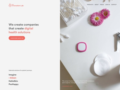 Leo Innovation Lab - Exploration A webdesign ux ui logo scandinavian modern identity ghanavati danish corporate exploration uxui branding typography front page landing page web design design