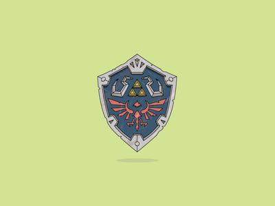 Used Zelda Shield