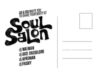 Soulsalon Postcard Back