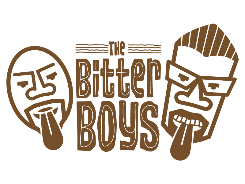 The bitter boys without background dribbble