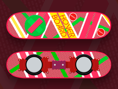 We were promised hoverboards... bttf mcfly hoverboard back to the future