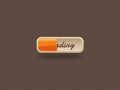 loading loading load progress bar wood texture