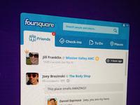 Foursquare pokki app