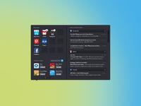 Pokki app menu