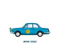 BMW 2002 - 1966 Rally Look