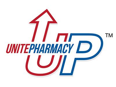 Unite Pharmacy Logo Design graphic design branding logo design logo mark
