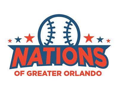 Nations of Greater Orlando Proposed Logo t-shirt design branding logo design logo mark