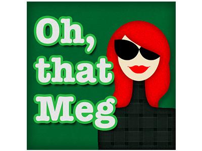 Oh, That Meg! Avatar Design social media graphics graphic design branding logo avatar design