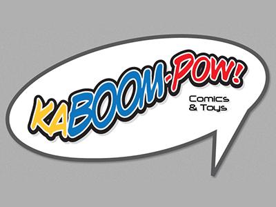 Ka Boom Pow Logo Design graphic design branding logo design logo mark